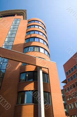 futuristic office towers