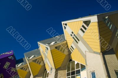 cube houses in Rotterdam, the Netherlands