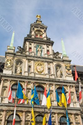 Antwerp`s Renaissance City Hall