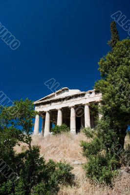 Hephaistos Temple at Agora in Athens