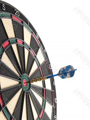 hitting the bullseye!