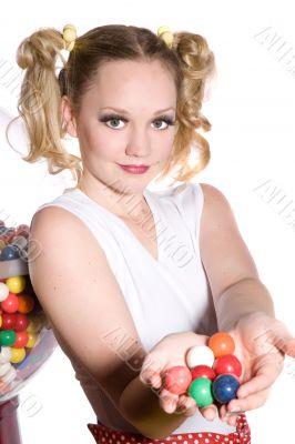 Want a bubble gum