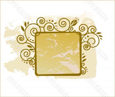 beige frame