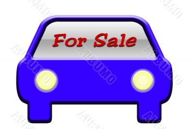 Car For Sale Illustration