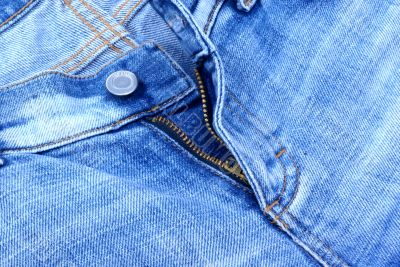 A jeans zip.