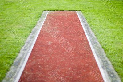 Ended track