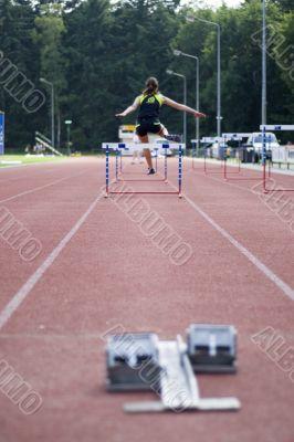 taking hurdles