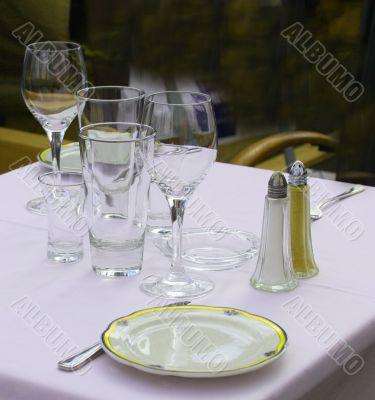 Picnic dinner set