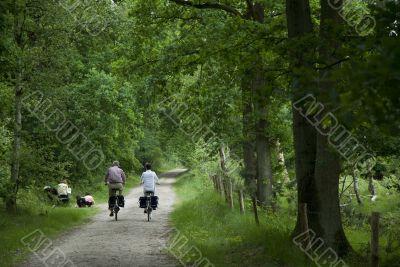 recreation by bike