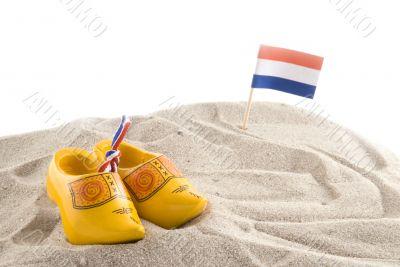 Beach in Holland