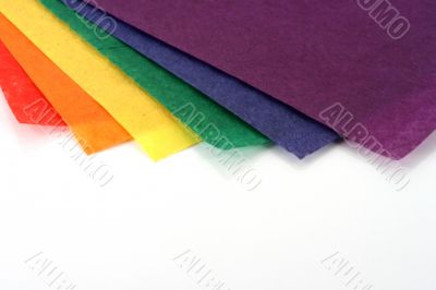 Rainbow Colored Craft paper