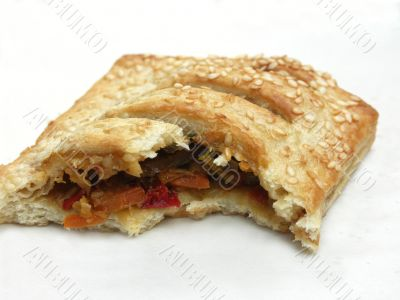 A puff paste sandwich.