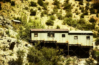 Miner`s Shack, Bisbee, Arizona