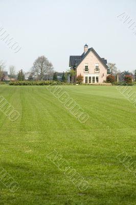 free-standing villa