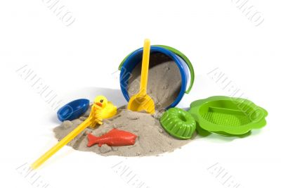 play-set for sand