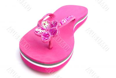 Summer footwear.