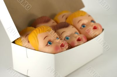 Plastic Doll Faces