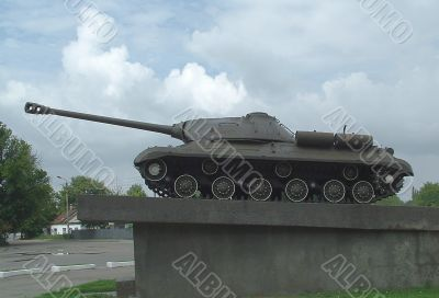 Monument to general Karnaсhev  M. T.