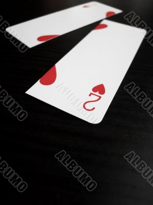 Two of Hearts Divided