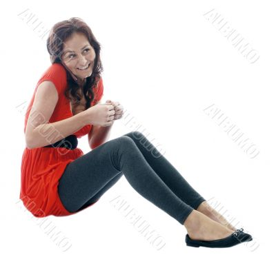 young woman talking on mobile