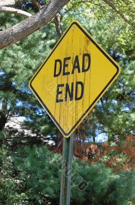 deadend sign side raw