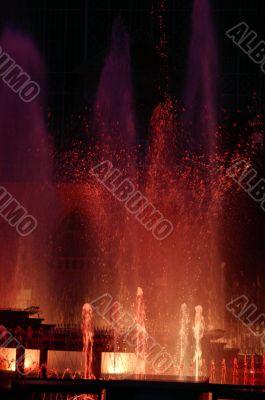 Karlovy Vary,`Singing Fountain`,