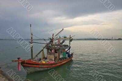 Colorful Thai Fishing Boat