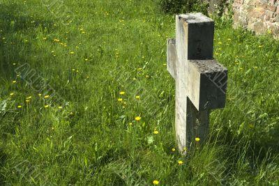 simple grave