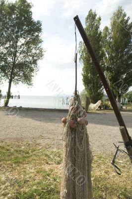 drying fishing-net