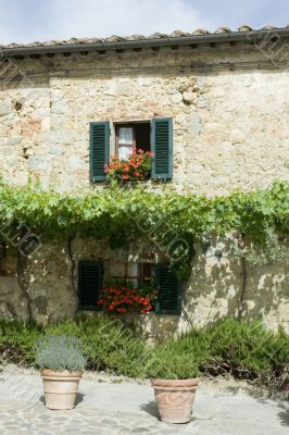 romantic Italian house