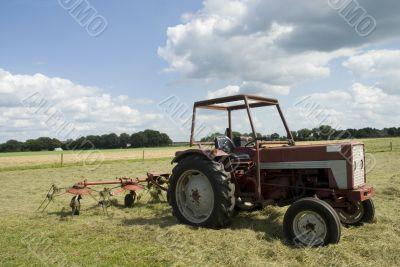 turn around the hay