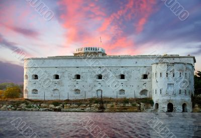 Old sea fortress