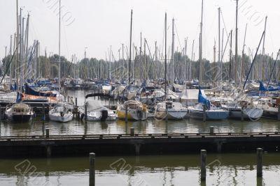 Harbor for recreation