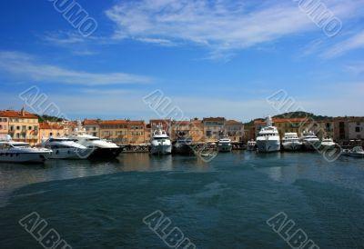 Saint Tropez quay