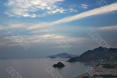 Fujairah coast at Dawn