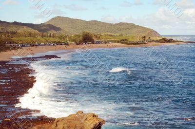 Rocky Makapu`u Beach