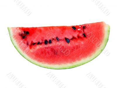 isolated water-melon