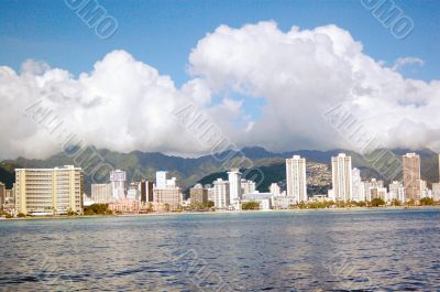 Waikiki Skyline Hawaii