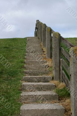 Stairway to sea!
