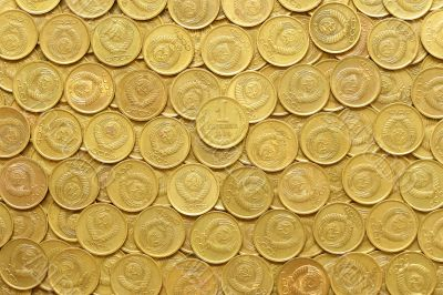 rows of coins