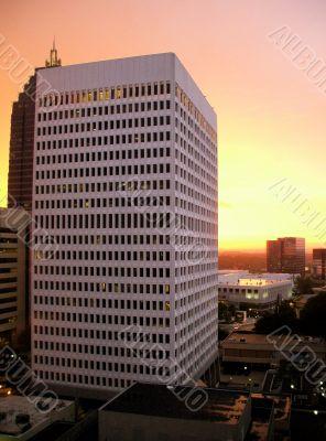 Skyline of Midtown Atlanta Georgia