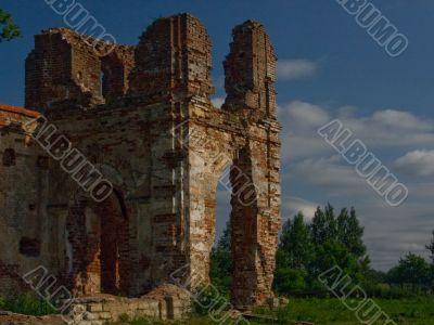 Kaporian ruins