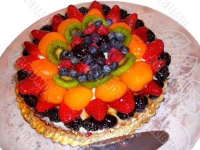 Elegant Fruit Tart Pastry