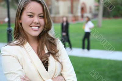 Pretty Teacher on Campus