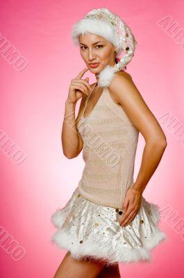 Santarina On Pink