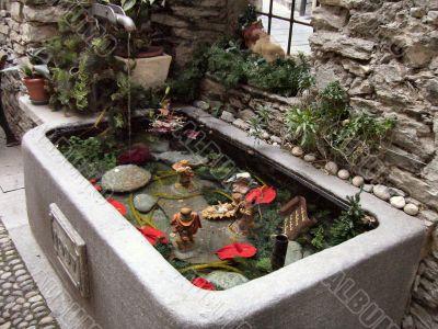 Bard MangerIn A Fountain