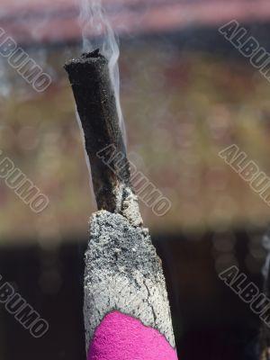Giant joss stick