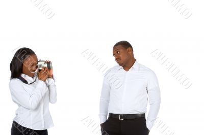 Taking pictures