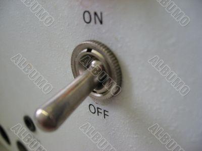 a toggle switch