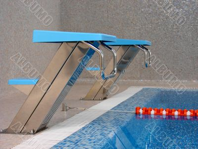 start place in swimming pool
